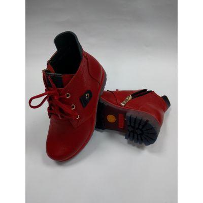 Ботинки для девочки арт.0209 красные