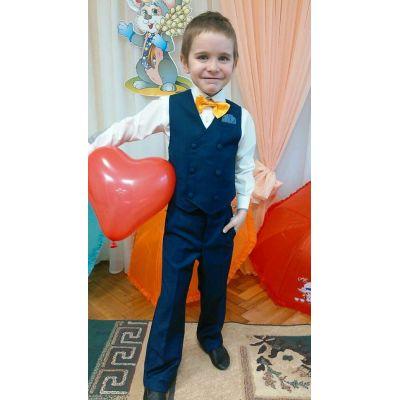 Комплект для мальчика - брюки и жилет Богдан