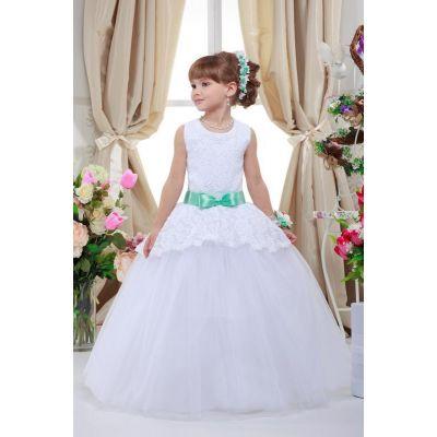 Нарядное платье для девочки 7711