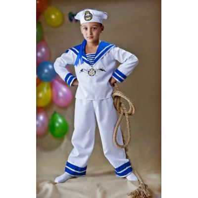 Карнавальный костюм для мальчика Моряк №4