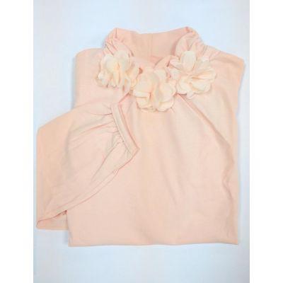 Блуза - гольф для девочки 114360 / 114361 персик