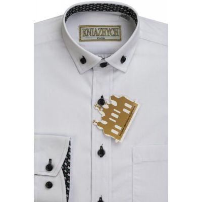 Рубашка школьная для мальчика 2000/K11 белый Княжич