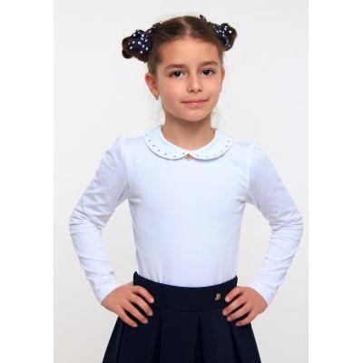Блуза трикотажная для девочки ТМ Смил 114522/114523 белый