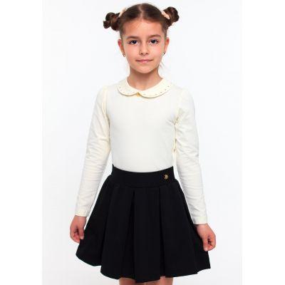 Блуза трикотажная для девочки ТМ Смил 114522/114523 молочный