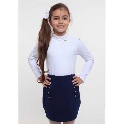 Гольф для девочки ТМ Смил 114524/114525 белый