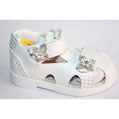 Босоножки для девочки Clibee Z-225 White
