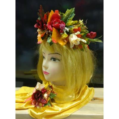 Карнавальный костюм Венок Праздник Осени - Золотая Осень #3