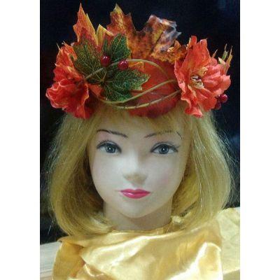 Карнавальный костюм Венок Праздник Осени - Корона Осень #7