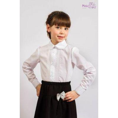 Блуза школьная для девочки 126 ТМ Малена