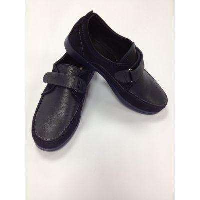 Туфли для мальчика 3743 синие+замша ТМ Jordan