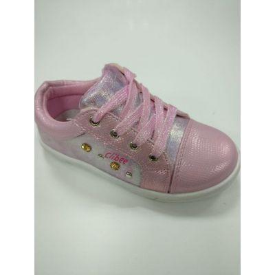 Туфли - кроссовки для девочки P112 розовые