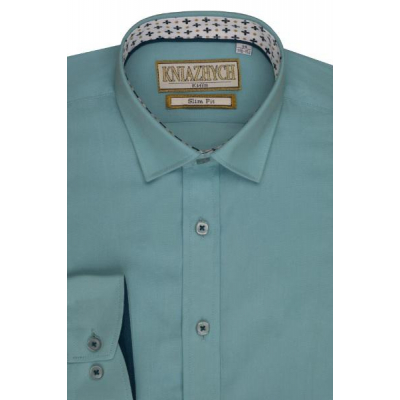 Рубашка школьная для мальчика Aquarius/K844 slim Княжич