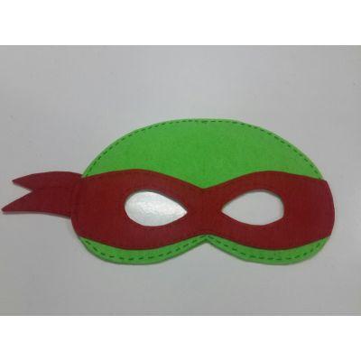 Карнавальный костюм - маска Черепашка Ниндзя (Рафаэль)