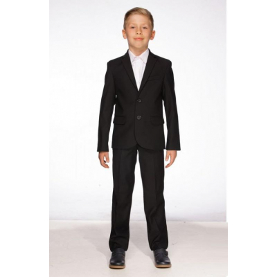 Школьный костюм для мальчика 511-A черный Saymont Tay