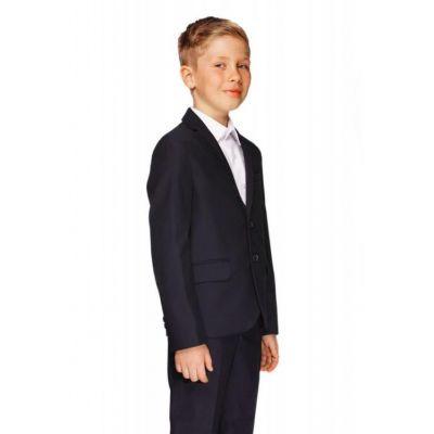 Школьный костюм для мальчика 511-А.3К-1 синий Saymont Tay