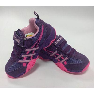 Кроссовки для девочки 7888-12 фиолетовые ТМ Zolong