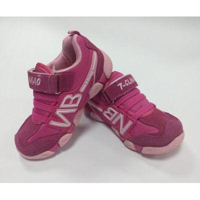 Кроссовки для девочки 511-11/511-12 малиновые ТМ Zolong