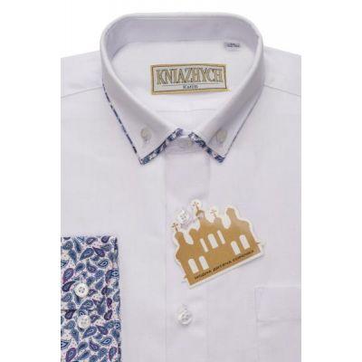 Рубашка школьная для мальчика PT2000Roders5sl Княжич
