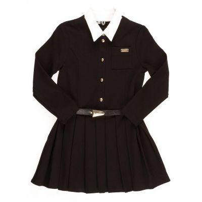 Платье школьное трикотажное Эйлин Suzie черный