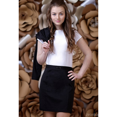 Юбка школьная для девочки 7024 ТМ Зиронька