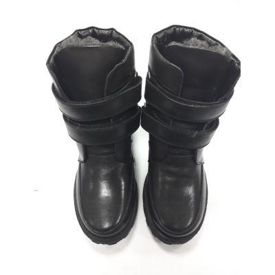 Ботинки черные PdP4052