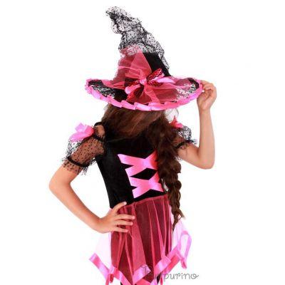 Карнавальный костюм на Хеллоуин - Ведьмочка арт.2088