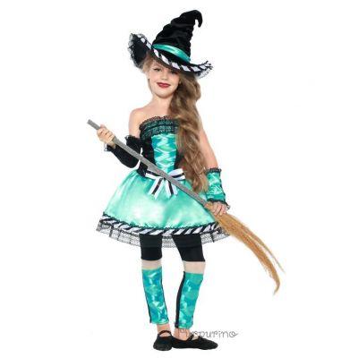 Карнавальный костюм Хеллоуин Ведьмочка арт.2058