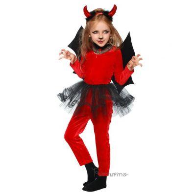 Карнавальный костюм Чертёнок-девочка, арт.2055