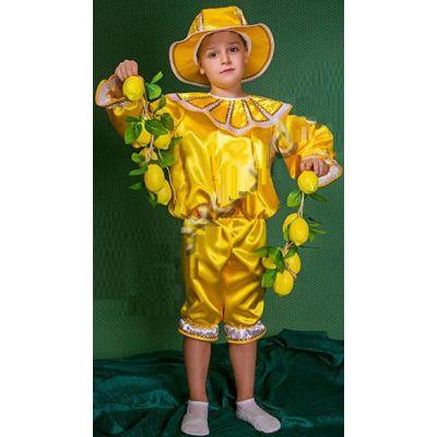 Карнавальный костюм для мальчика Лимон №4