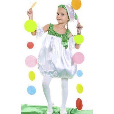 Карнавальный костюм для девочки Фасоль - Фасолька №4