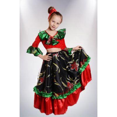 Карнавальный костюм Цыганка (цыганский костюм) №5