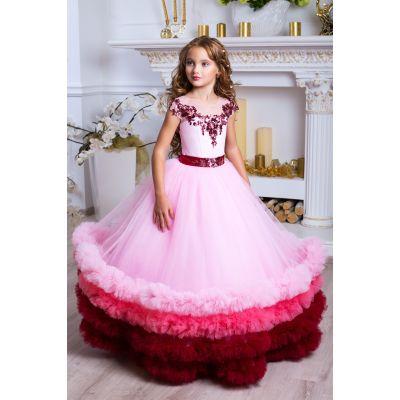 Нарядное бальное платье для девочки 9795