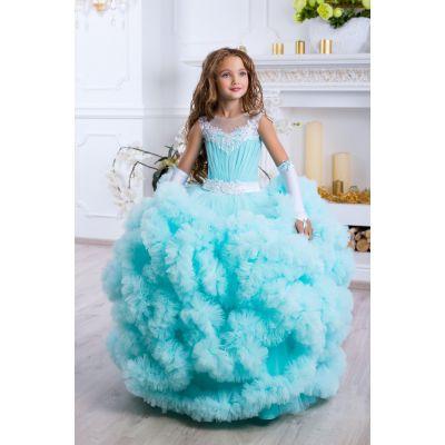 Нарядное бальное платье для девочки 9794