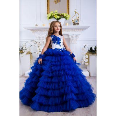 Нарядное бальное платье для девочки 9790