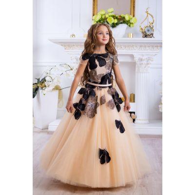 Нарядное бальное платье для девочки 9784