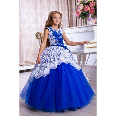 Нарядное бальное платье для девочки 9782