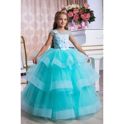 Нарядное бальное платье для девочки 9775