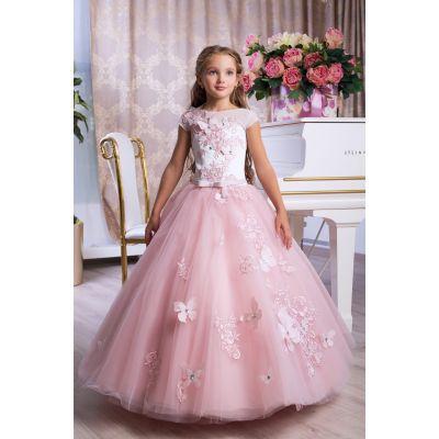 Нарядное бальное платье для девочки 9773