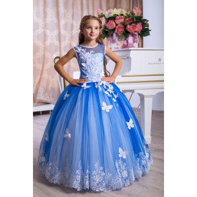 Нарядное бальное платье для девочки 9772