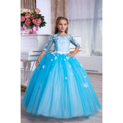 Нарядное бальное платье для девочки 9770