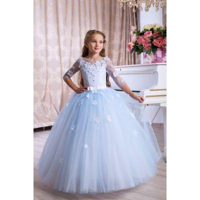 Нарядное бальное платье для девочки 9769