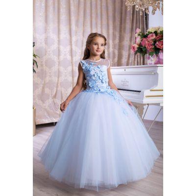 Нарядное бальное платье для девочки 9767