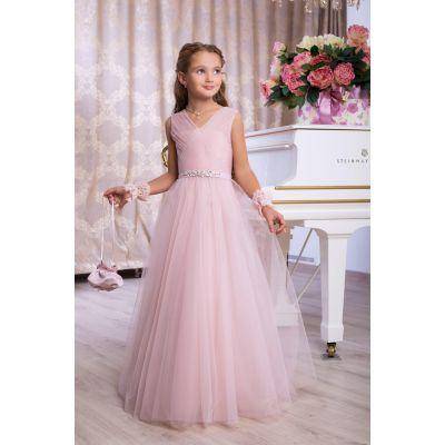 Нарядное бальное платье для девочки 9766