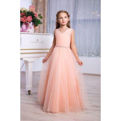 Нарядное бальное платье для девочки 9763