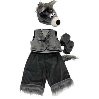 Карнавальный костюм для мальчика Волк №8