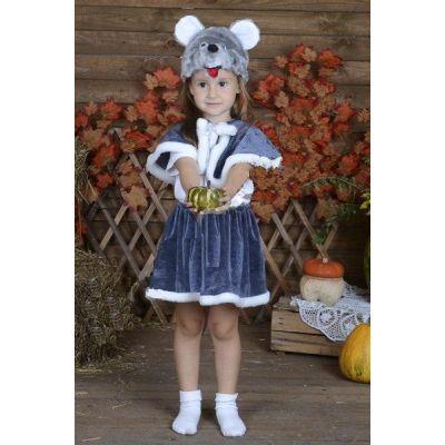 Карнавальный костюм для девочки Мышка №4