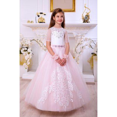 Нарядное бальное платье для девочки 10719