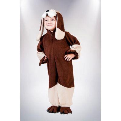 Карнавальный костюм для мальчика Собака №5 рыжая