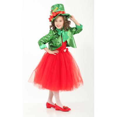 Карнавальный костюм для девочки Рождественский Эльф