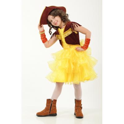 Карнавальный костюм для девочки Ковбойка (Пиратка), пони Эплл Джек